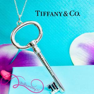 Tiffany & Co. Jewelry - NWOT T&Co. Tiffany Keys Extra Lg. Oval Key Pendant